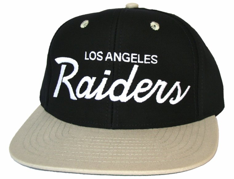 Casquette Neuve Ajustable Officielle NFL - Los Angeles LA Raiders Snapback