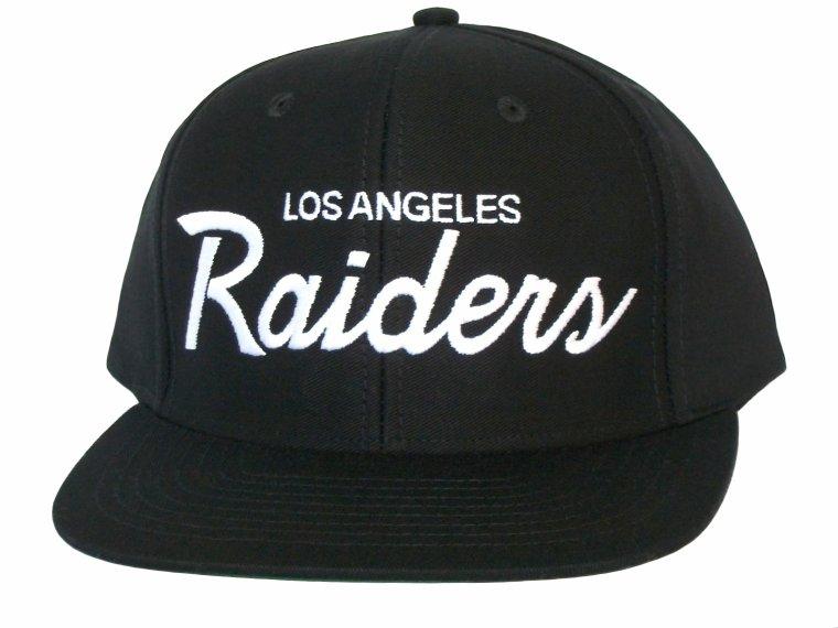 Casquette Los Angeles LA Raiders - Snapback Officielle NFL