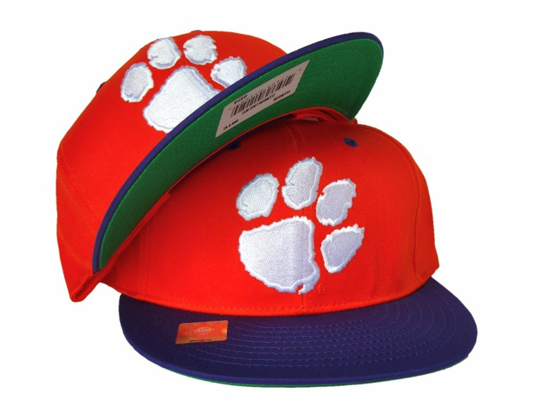 Casquette Ajustable - UNIVERSITE DE CLEMSON TIGERS Snapback - NCAA- Orange/Violette