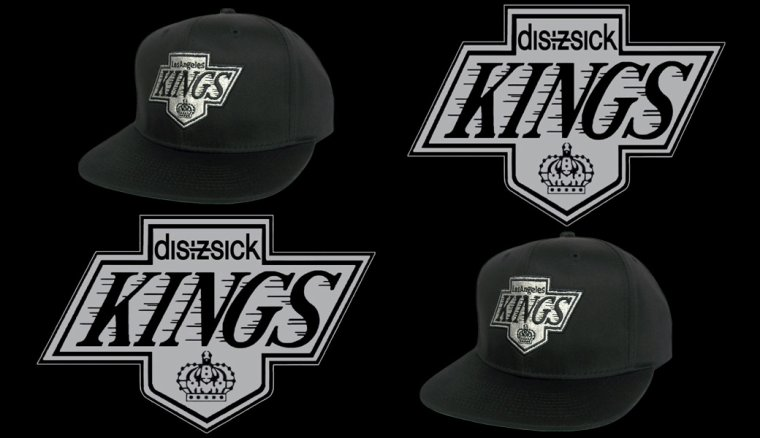 LOS ANGELES KINGS Snapback - Casquette Ajustable  NHL -