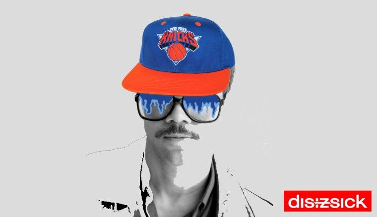 NEW YORK KNICKS Casquette Ajustable NBA - Snapback - Adidas
