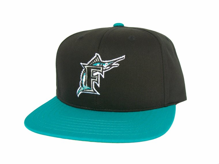 Casquette Ajustable- FLORIDA MARLINS-Snapback -Officielle MLB