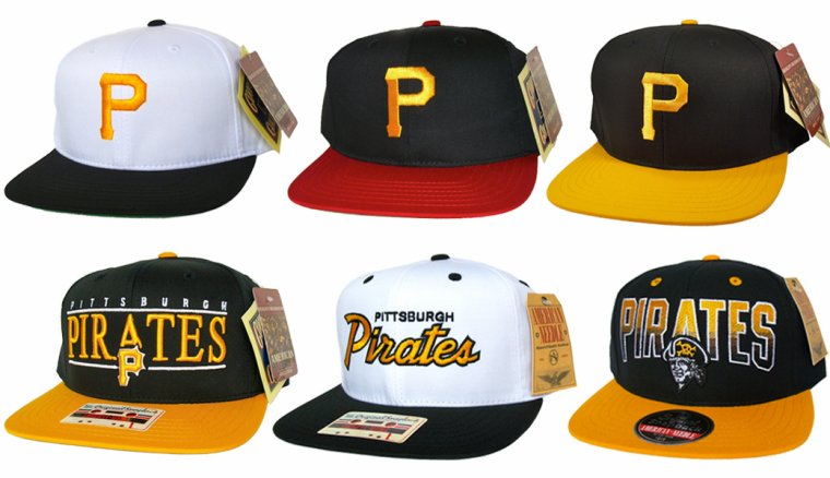 Casquette  Ajustable - Pittsburgh Pirates Snapback