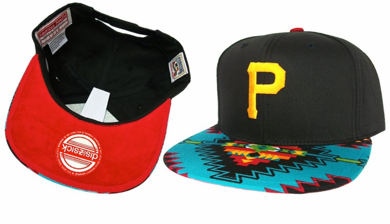 Casquette Pittsburgh Pirates Customisee - Snapback EDITION LIMITEE