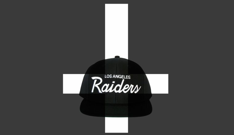 Casquette Los Angeles LA Raiders - Snapback Officielle NFL (Reebok)