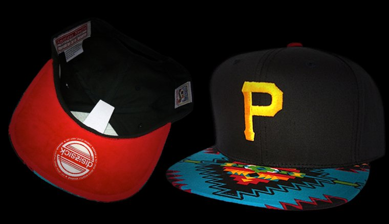 Casquette Pittsburgh Pirates Customisee  - Snapback - EDITION LIMITEE  disizsick
