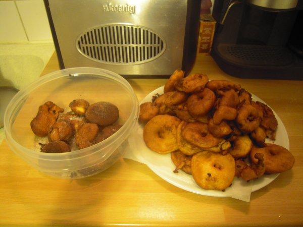 beignets aux pommes fait maison