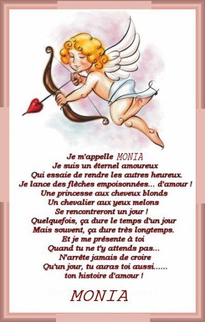 poème pour Monia
