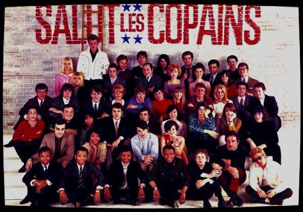 """""""SALUT LES COPAINS""""  ou """"LA NOUVELLE VAGUE"""" que des Star's de la chanson....."""