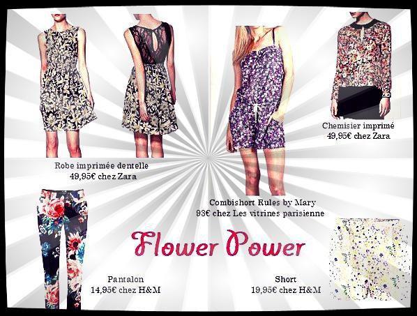 FLOWER POWER......l'été 2013 sera fleuris comme dans les années dingues Hippies....