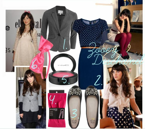 le look de… Zooey Deschanel!
