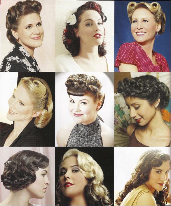 """les coiffures Rétro , Vintages sont de retours alors toutes a vos """" BIGOUDIS """".....et adieu cheveux lissés et """" Raides """"...."""
