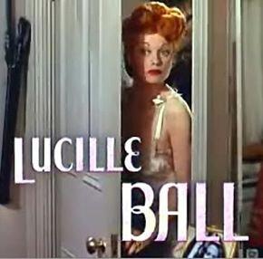 Lucille Ball.....une Rousse incendiaire......
