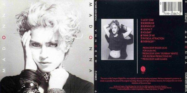 Madonna a ses débuts