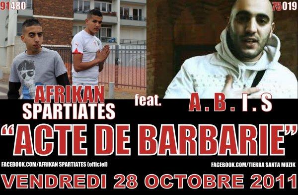Featuring ABIS - Acte de Barbarie  (2011)