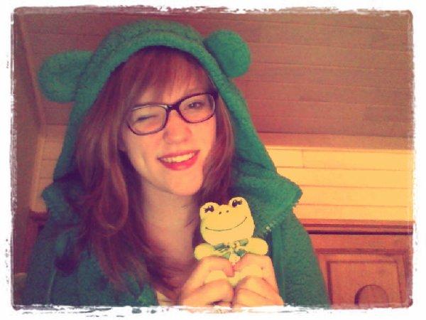 avec ma grenouille x)