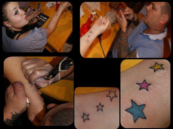 encore des nouveaux  tatoo fait par mon homme <3 trop beau !!!!!!!!