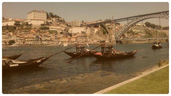 Vacances + Portugal + Soleil + Porto = Bonheur ☼