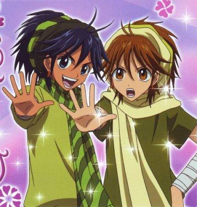 Un manga mélant magic et histoire de coeur ;)