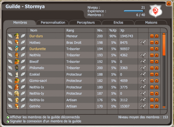 Je vais vous presenter ma guilde Stormya