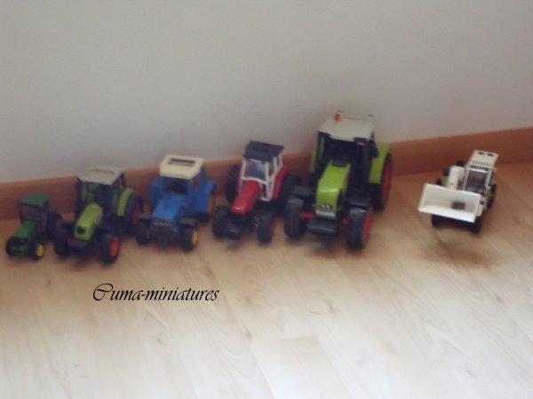 Les tracteurs de la Ferme ...