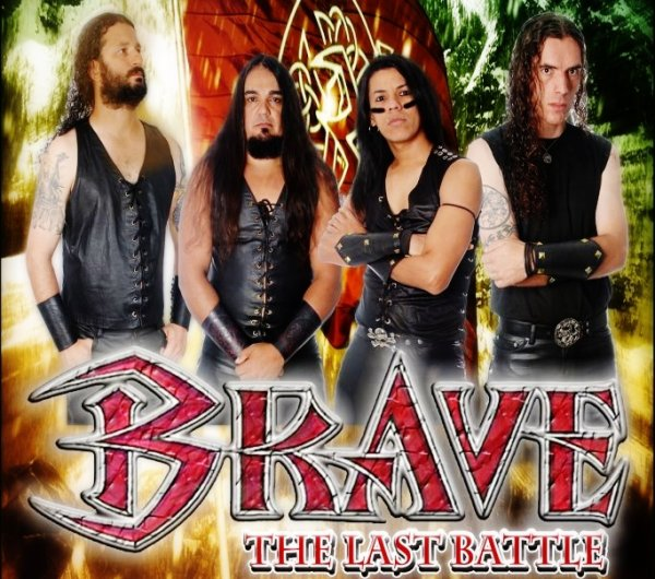 Il Brasile è terra di Metal Rock...i BRAVE assaltano l'Europa