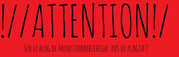 MonsterBarbieHigh et ses Monster High