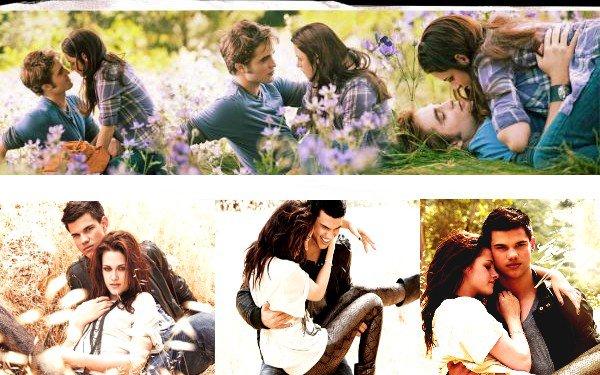 Edward et Bella      ou Jacob et Bella