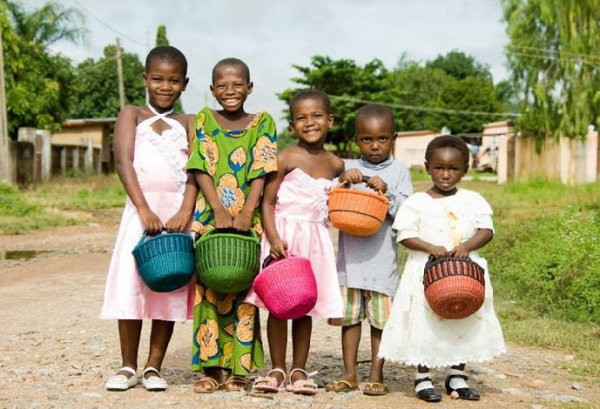 ENFANTS AFRICAINS - BEAUTÉS - REGARDS - CITATIONS - POEME