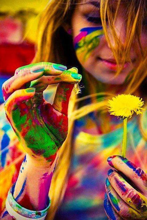 Les couleurs de la vie - Poème et citations en images