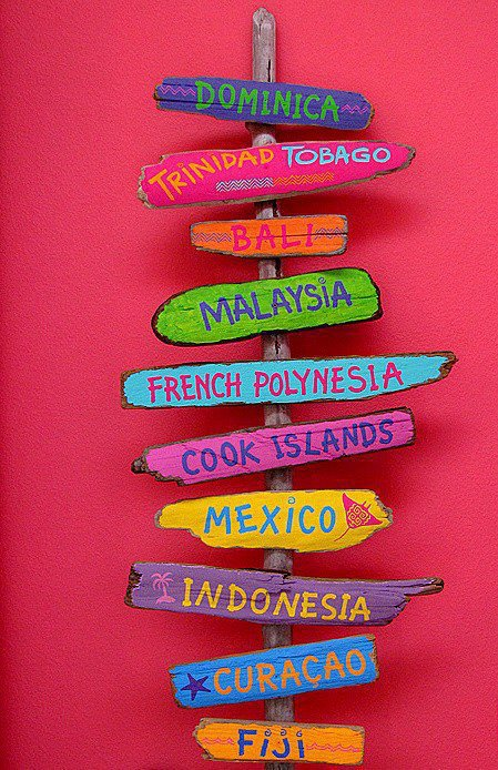 Les couleurs à travers le Monde - Poème - Citations