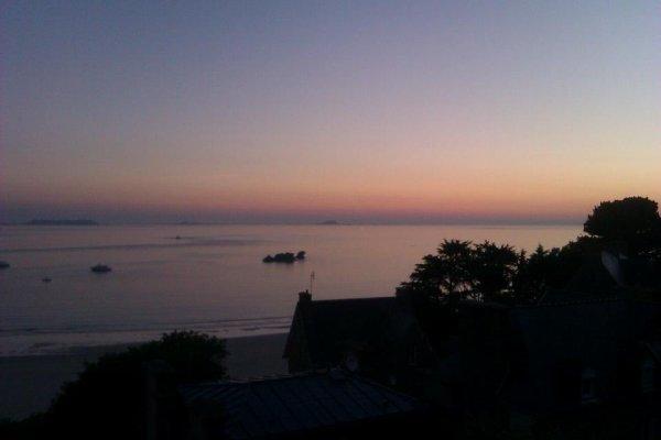 PERROS GUIREC CE MATIN AU LEVER DU SOLEIL - TRESTRAOU BEACH