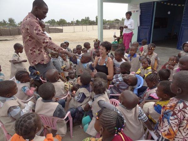 à l'école Française.... David Navarrete - Photos C♥eurSénégal22