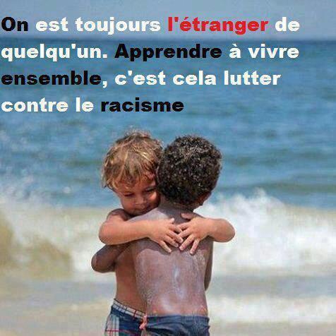 Un monde sans racisme!!!