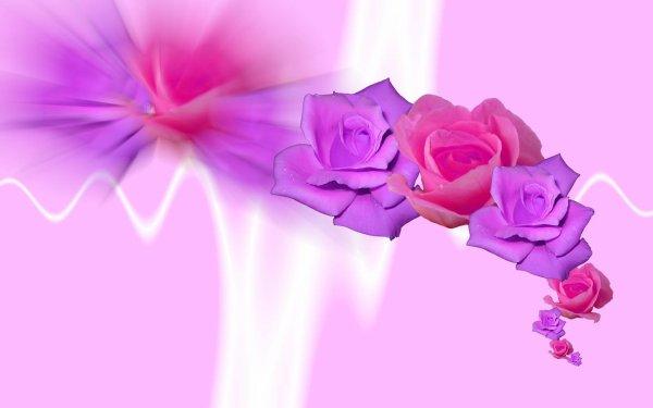 La rose et les Vers - Poème