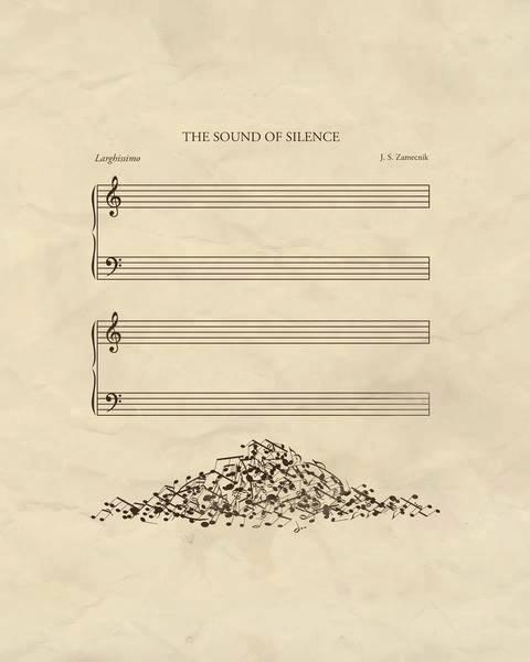 Le silence. . . en ♪ ♫. . . et en Images. . .