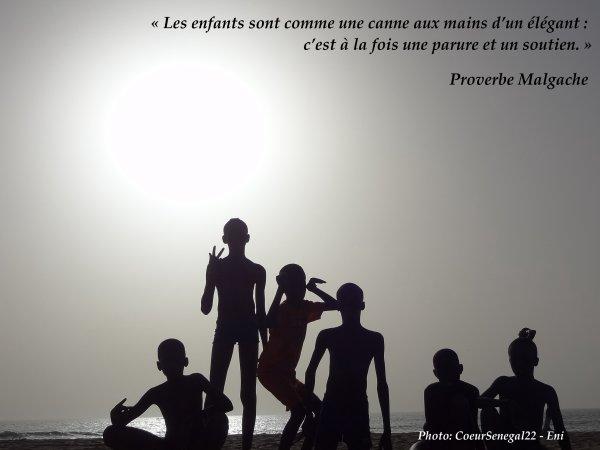 Quelques enfants du Coeur de CoeurSénégal22