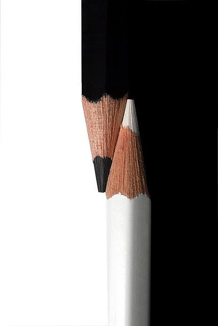 Le c♥eur Blanc Noir - Poème c♥eurSénégal22