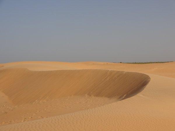 Le silence des mots - Poème CoeurSénégal22 - Désert de Lompoul - Sénégal - Photos CoeurSénégal22