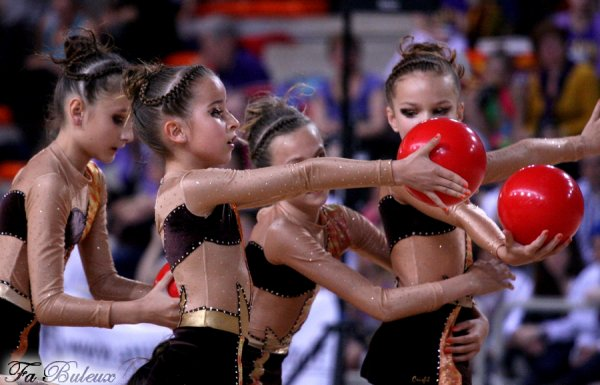 Championnat de France DF1 Benjamines - Canet