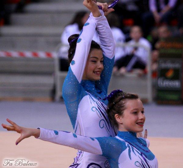 Championnat de France DF2 Benjamines/Minimes - Bordeaux