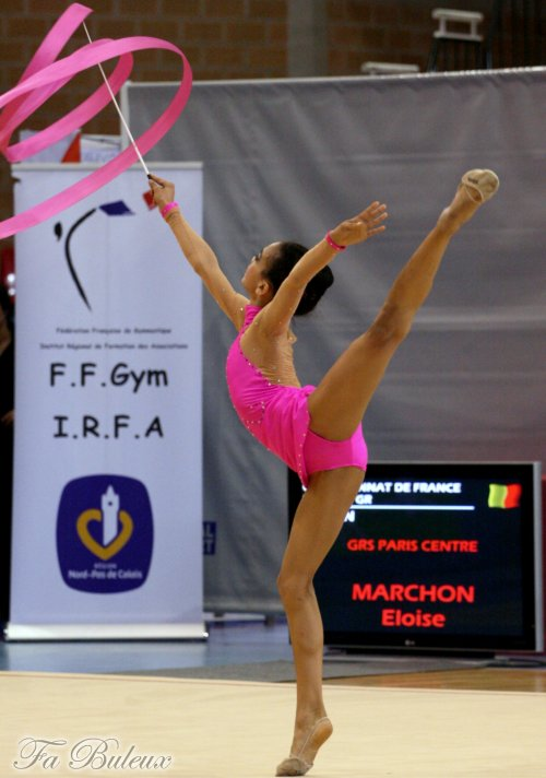 Championnat de France Espoir 2013 - Eloïse Marchon (2ème partie)