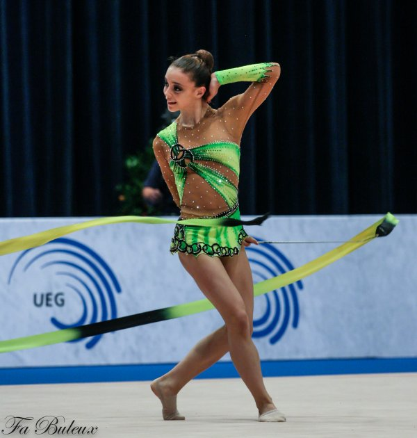 European Championships 2013 - CG Individual - Ambre Chaboud (France)