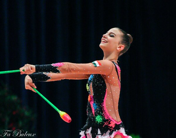 European Championships 2013 - CG Individual - Bianka Borocz (Hongrie)