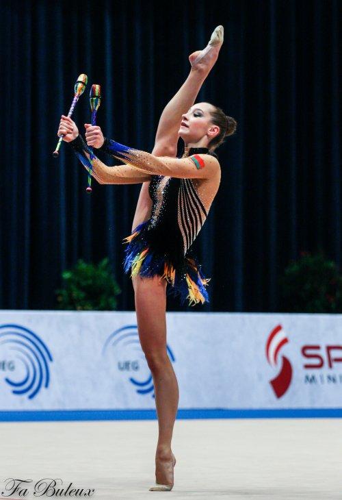 European Championships 2013 - CG Individual - Katsiaryna Halkina (Biélorussie)