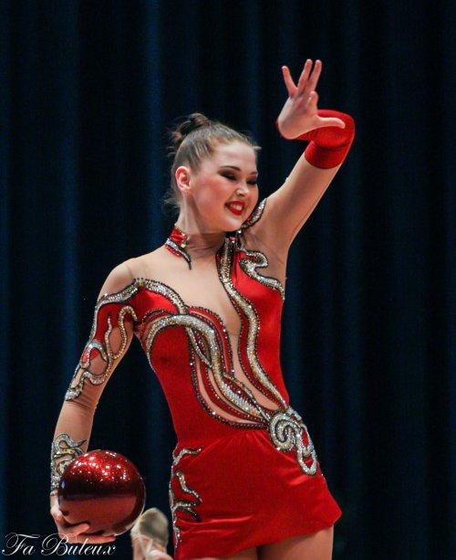 European Championships 2013 - CG Individual - Alina Maksymenko (Ukraine)