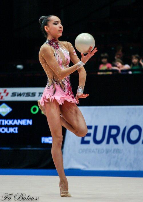 European Championships 2013 - CG Individual -Salomé Phajava (Géorgie)