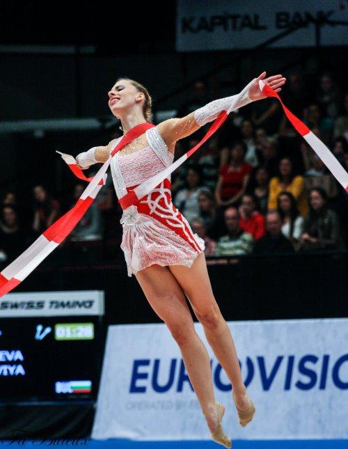 European Championships 2013 - CG Individual - Caroline Weber (Autriche)