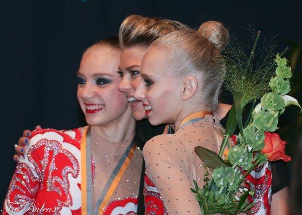 European Championships 2013 - CG Individual - Podium