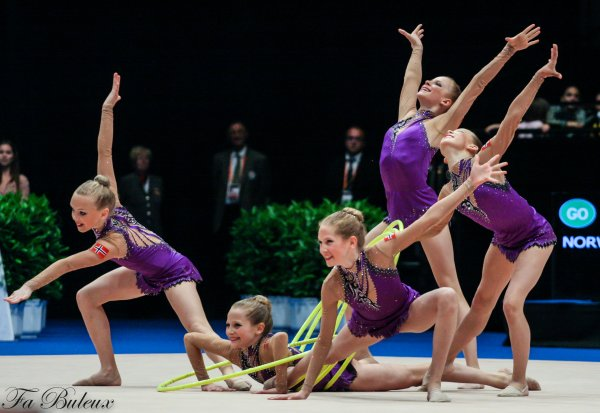 European Championships 2013 - CG Ensemble Junior - Norvège